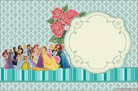 all disney princess free printable invitations is it for