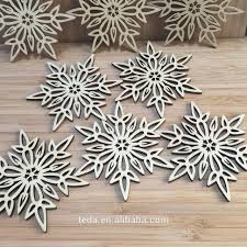 aliexpress buy wooden snowflakes hanging for happy winter