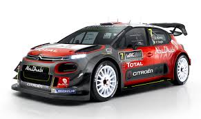 siege citroen c3 citroën racing rally team