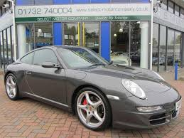 used porsche s for sale used porsche 911 2005 petrol 997 2 s coupe grey edition