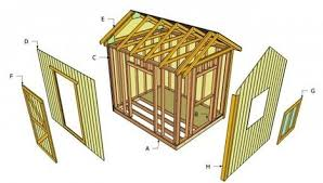 Free Wooden Shed Plans by Free Shed Plans Scoop It