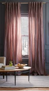 pretty light pink curtains again dark grey walls http rstyle