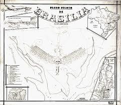 map of brasilia the founding of brasilia brazil building the world