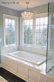 bathroom tub tile ideas pictures best 25 bathroom chandelier ideas on master bath