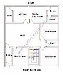 Master Bedroom According To Vastu North Facing House Plan 7 Vasthurengan Com