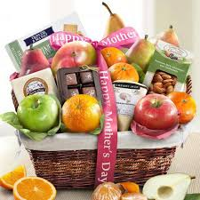 fruit baskets for s day mothers day deluxe fruit basket aa4101m a gift inside