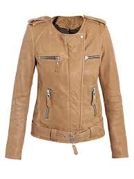 light brown leather jacket womens ritze tan leather jacket leather4sure women