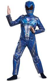 Power Rangers Samurai Halloween Costumes Disguise Child Classic Blue Power Ranger Samurai Costume