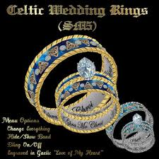 celtic wedding ring sets second marketplace celtic wedding rings sm5