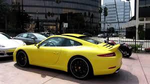 porsche ducktail new 2013 porsche 911 carrera s sport design package racing yellow