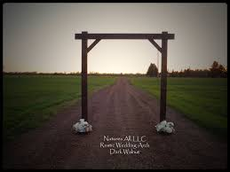 wedding arch kit wedding arch wedding arbor rustic wedding arch complete kit