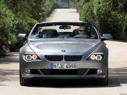 bmw 650i 2008 convertible 2008 bmw 6 series convertible front angle view photo wallpaper 15