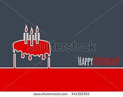happy birthday greeting card design birthday stock vector