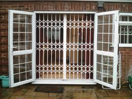 Patio Door Security Shutters Inspirational Security Grilles For Patio Doors Patio Design Ideas