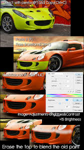 virtual tuning tutorial changing the bodykit color instatuts com