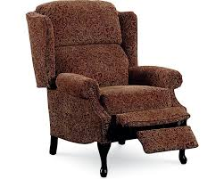 lane savannah high leg recliner nailhead trim lane furniture