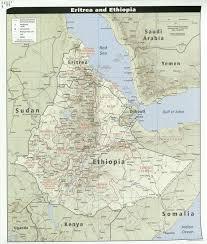 africa map eritrea eritrea maps perry castañeda map collection ut library