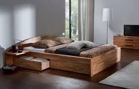 Solid Bed Frame King Bedroom Modern King Bed Frame Metal Bed Wood Platform
