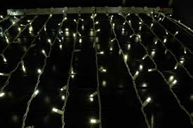 twinkle led christmas lights twinkling led curtain lights on white wire with 20 wide angle warm