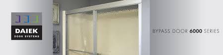 bypass door 6000 series daiek door systems