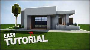 Modern House Minecraft Minecraft House Tutorial Survival Modern House Best House