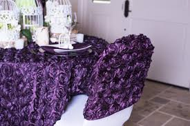 rosette chair covers birds blooms rosette tablescape linentablecloth