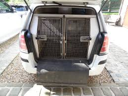 vauxhall zafira 1 9 cdti 8v special converted dog pets carrier