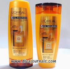 loreal paris 6 oil nourishing shampoo u0026 conditioner review diva
