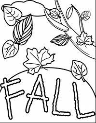 spectacular printable fall coloring pages with fall printable