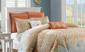 Camo Crib Bedding Bedding Set Bright Orange And Grey Crib Bedding Noticeable
