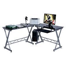 large corner desk computer desks south shore morgan computer desk royal cherry