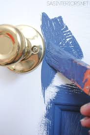 How To Paint An Interior Door by Pop Of Color How To Paint A Door Jenna Burger