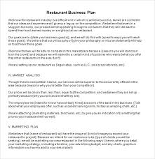 Free Business Plan Template Excel Business Plan Sles Business Planning Business Plans In Small