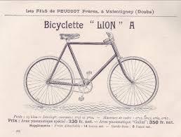 peugeot lion 1899 peugeot u0027bicyclette lion a u0027 the online bicycle museum