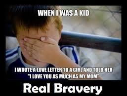 Confession Kid Meme - innocent child real bravery demotivational poster
