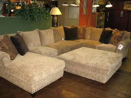 Oversized Loveseat With Ottoman Fantastic Oversized Loveseat With Ottoman Chic Microfiber Large