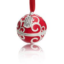 exclusive charm ornament inspired by the radio cit