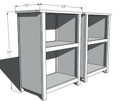 bookcase shallow depth bookshelf diy built in bookcases butcher