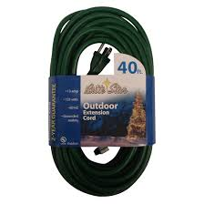 outdoor extension cord green 40 u0027 target