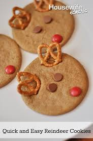quick and easy reindeer cookies with nestle tollhouse housewife