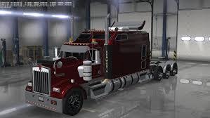 kenworth w900 long remix ats v1 5 american truck simulator mods