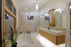 lighted medicine cabinet bathroom contemporary with built in