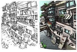 vinny kumar urban sketching