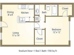stadium floor plans 15 best images of bathroom 1 bedroom apartment dimensions 1