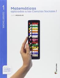 imagenes matematicas aplicadas matemáticas aplicadas a las ciencias sociales serie resuelve 1 bto