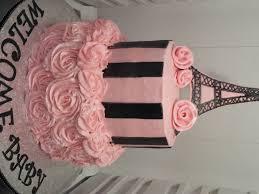 paris themed baby shower cake cakecentral com