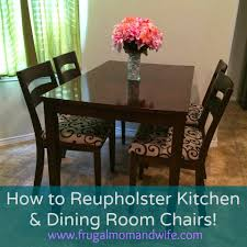 how to recover a dining room chair back recover dining chair back
