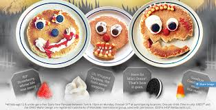 Get Free Pancakes At Participating Free Scary Pancakes At Ihop The Rock