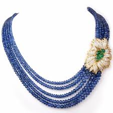 sapphire necklace gold chain images 73 best antique necklace images rounding jpg