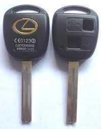 cheap lexus keys kl66 toy40p 2b toyota key shell 2 buttons hole with lexus logo